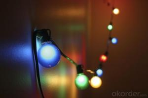 Outdoor Patio String Lights E26 Christmas  Rope Lights