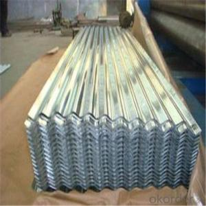 Galvanized Corrugated Iron Sheet for Roofing Supplied from China
