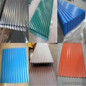Zinc Coating Galvanized Corrugated Steel Steel Zinc Roof Sheet