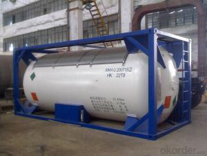 ASME/GB150 AHF (Anhydrous Hydrogen Fluoride) Tank Container
