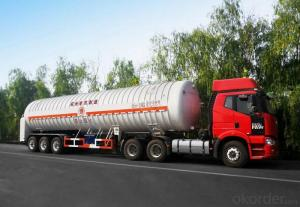 ASME/GB150 Ethylene Semi-Trailer high efficiency