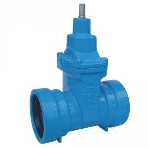 GATE VALVE SOCKET ENDS NON-RISING STEM RESILIENT SEATED DUCTILE IRON DN50 - DN300