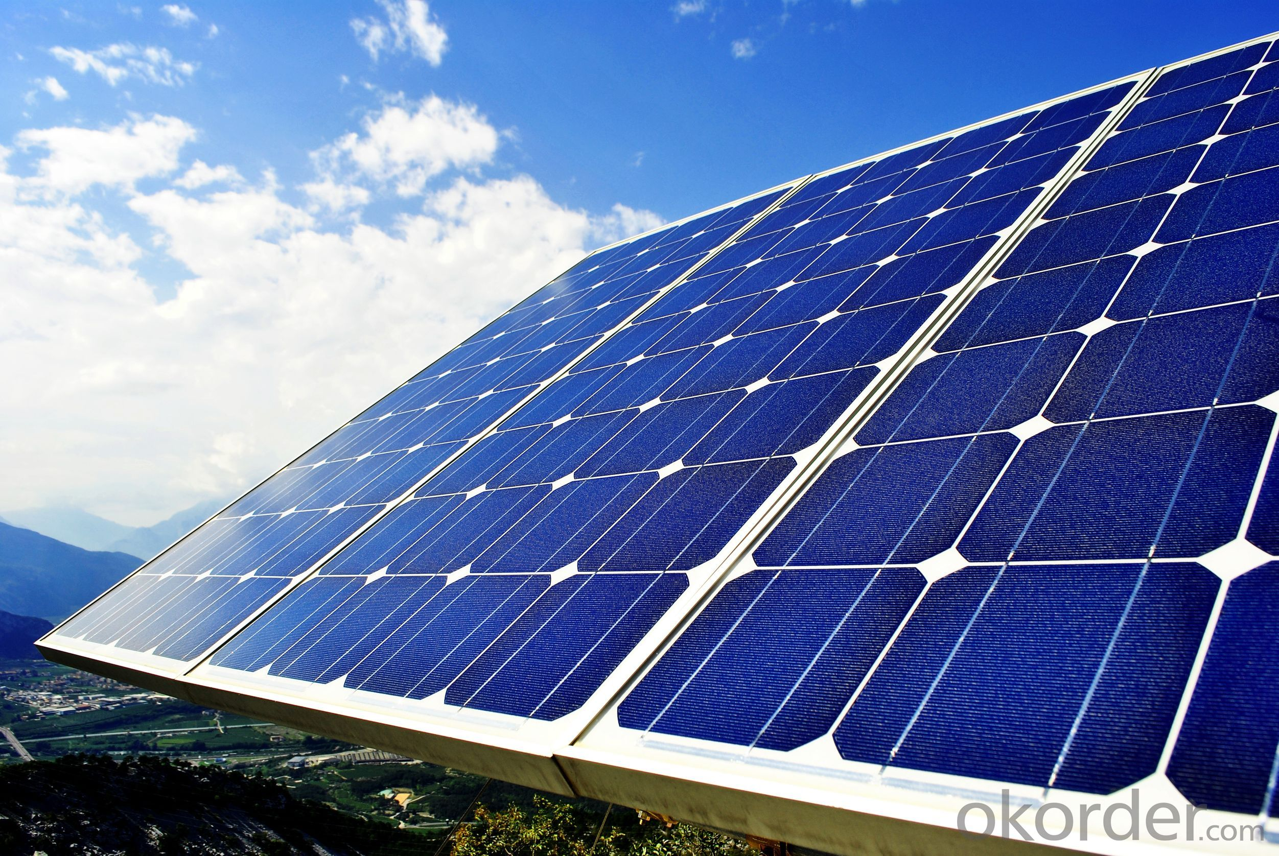 Buy Mono Solar Panel Importer Solar System Solar Energy Price Size Weight Model Width Okorder Com