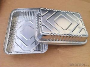 Aluminium Foil Container For Lid And Pie Pan