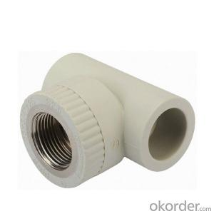 PPR Female Threaded Tee Elbow Plastic Pipe Fittings High Quality