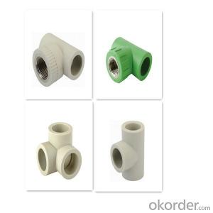 PPR Three-way Elbow Plastic Pipe Fittings High Quality