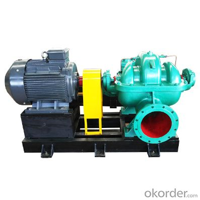 Vertical Split Case Centrifugal Pumps Double Suction