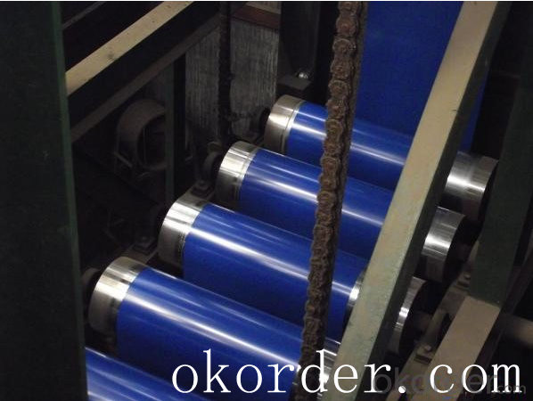 Prime quality prepainted galvanized steel 625mm