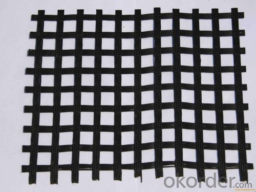 PP Plastic Biaxial Geogrid by Manufactory