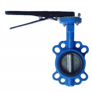 Butterfly Valve  Universal ISO 5211 Mounting Pad. China