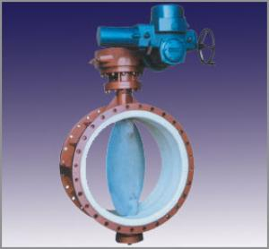 DUCTILE IRON BUTTERFLY VALVE DN300 China
