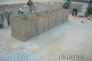 Hesco Barrier/ Military Welded Hesco Barrier Gabion Boxes