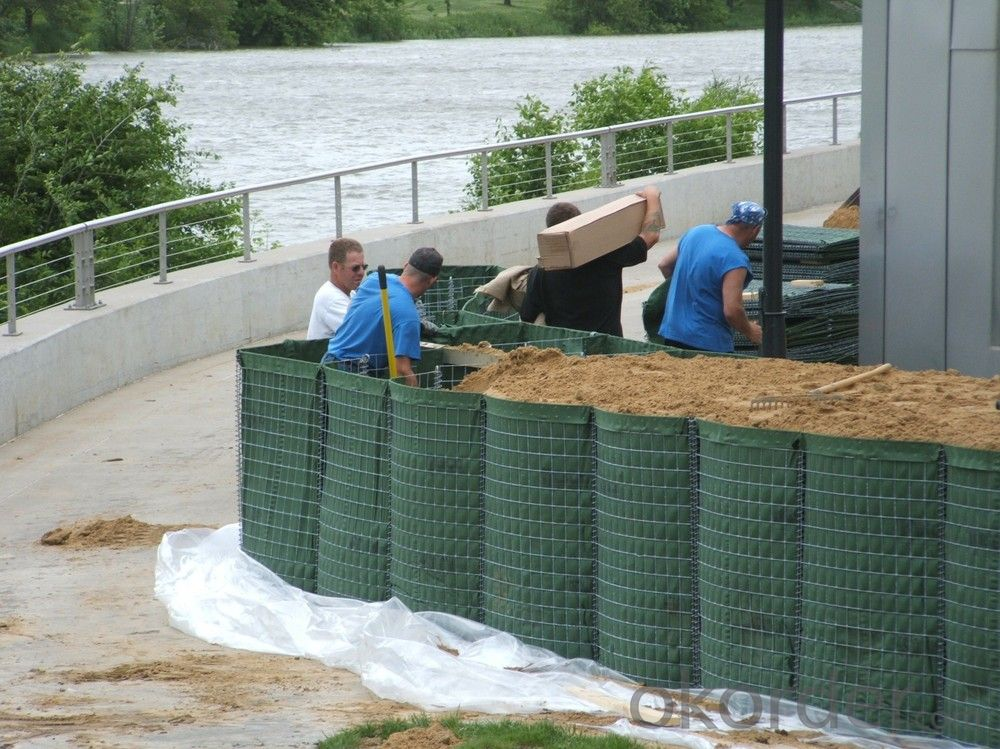 Galvanized Welded Hesco Flood Barrier Manufacture
