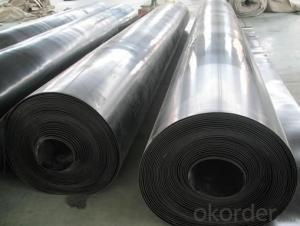Rubber Pond Liner impermeable HDPE Geomembrane