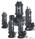 Submersible Sewage Water Pump with Cutter