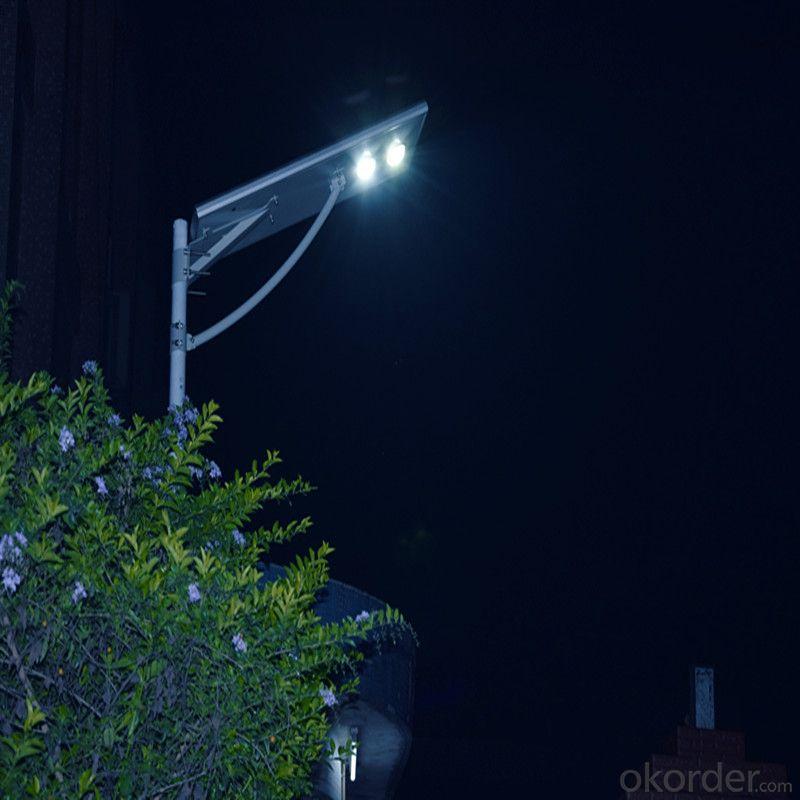 all in one solar street light integrated solar powered lighting