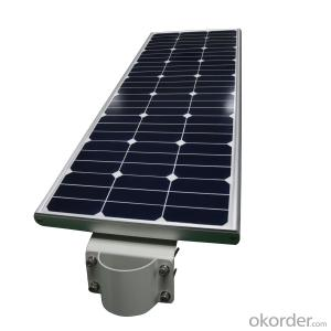 all in one solar street light integrated solar powered lighting