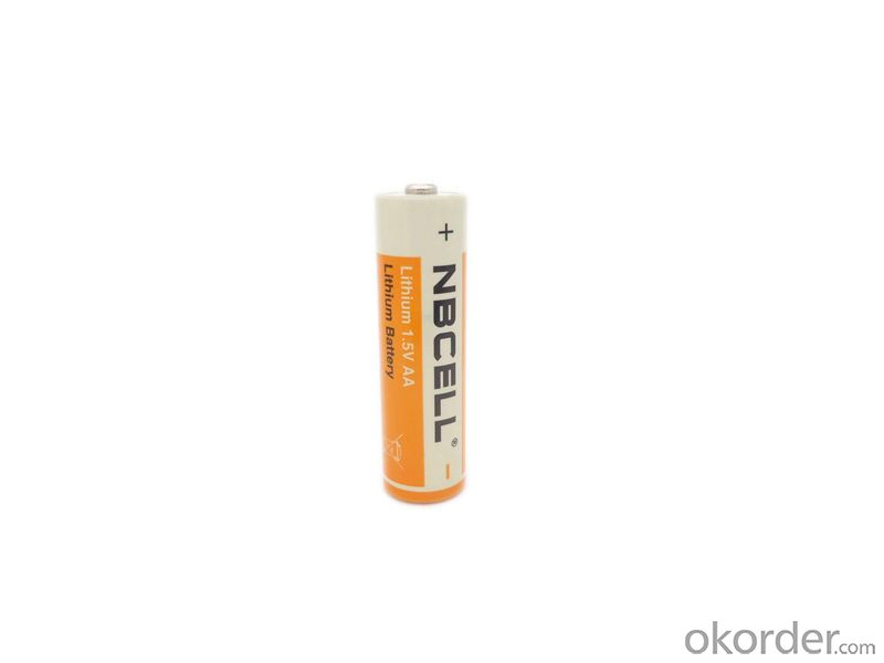 Lithium Iron Disulfide battery 1.5V AA 2900mah LI-FES2 Battery