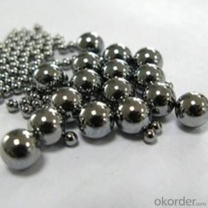 Stainless Steel Ball/Steel Shot Chinese Manufacture