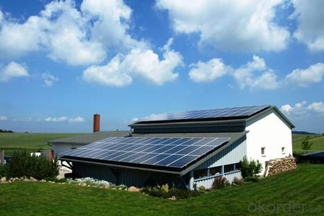 Solar System 5KW  Off-Grid System Long Useful Time