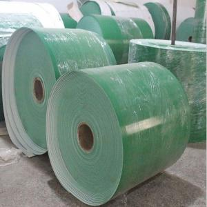 PVC/PU Conveyor Belt Round Dot Rough Top Surface