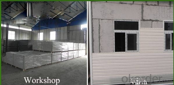 calcium silicate board --- Concrete Polystyrene Wall