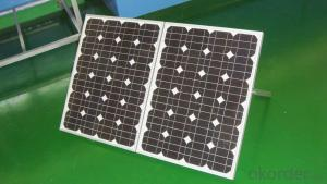 15W Mono Solar Panel for Solar System Made in China