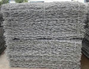 Double Twisted Hexagonal Wire Mesh Gabion Stone Cage