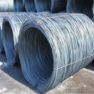 Steel wire rod in China hot sale in high carbon