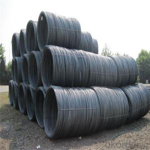 Hot rolled steel wire rod in coils low carbon