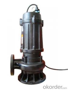 Submersible Sewage Cutter Pump Sewage Pump With Stainless Steel