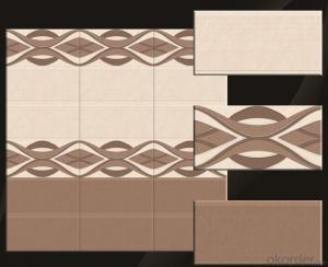 luxury interior ceramic wall tiles for bathroom /kitchen /washing room/glazed surface
