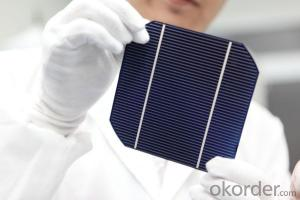 Monocrytalline Silicon Solar Cells 156mm (16.50%----18.35%)