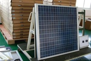 UL and TUV Approved High Efficiency 70W Poly Solar Panel