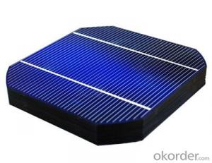Monocrytalline Silicon Solar Cells 125mm (16.50%----18.35%)