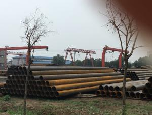 Seamless steel pipe with high steel grade