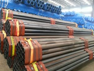 Seamless steel pipe for water delivery pipeline