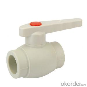 B4 Type  PP-R ball  valve  with  brass  ball