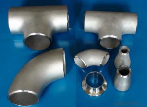 90 Degree Long Radius Stainless Steel Elbow