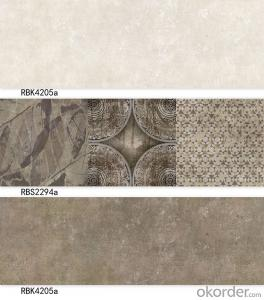 Grey colour ceramic wall tiles made in china