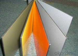 PE Color Coating Aluminium Sheet for Building Inside Walls