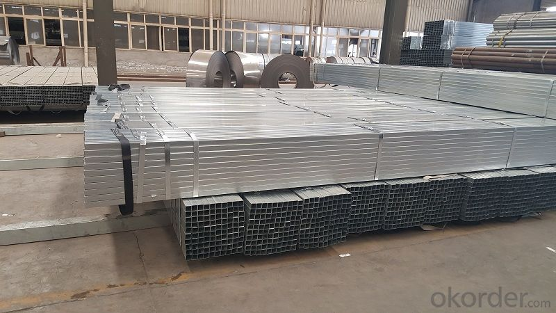 Galvanized welded steel pipe for construction piping