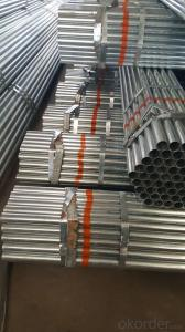 Galvanized welded steel pipe for heating pipe