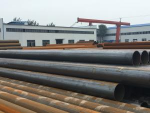 ERW steel pipe with high quality and cerficate