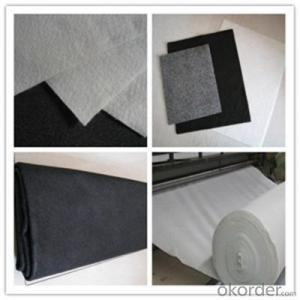 White 200gsm Non-woven Geotextile Staple Fiber or Long Fiber