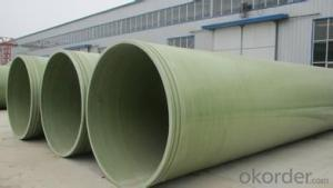 GRP heat insulation pipe made in China