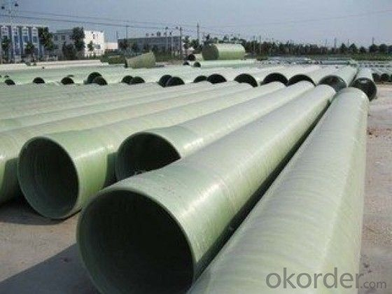 GRP pipe with sand filler made in China
