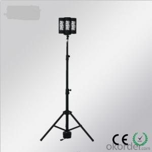 remote area work light  and tripod light 120W for industry