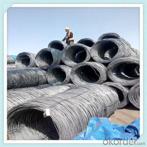 SAE1008 low carbon steel wire rod different diameter