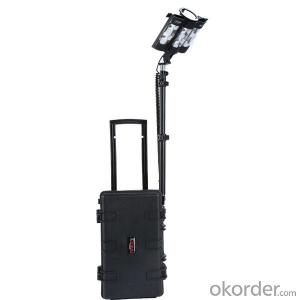 remote area work light system 5JG-839 120W scene lights and handheld spotlight  for industry